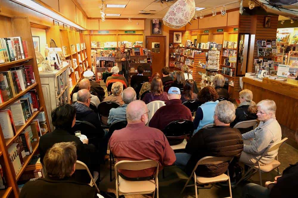 Alexandra Writers Centre Society Guest Speaker at Owl's Nest Bookstore, Calgary