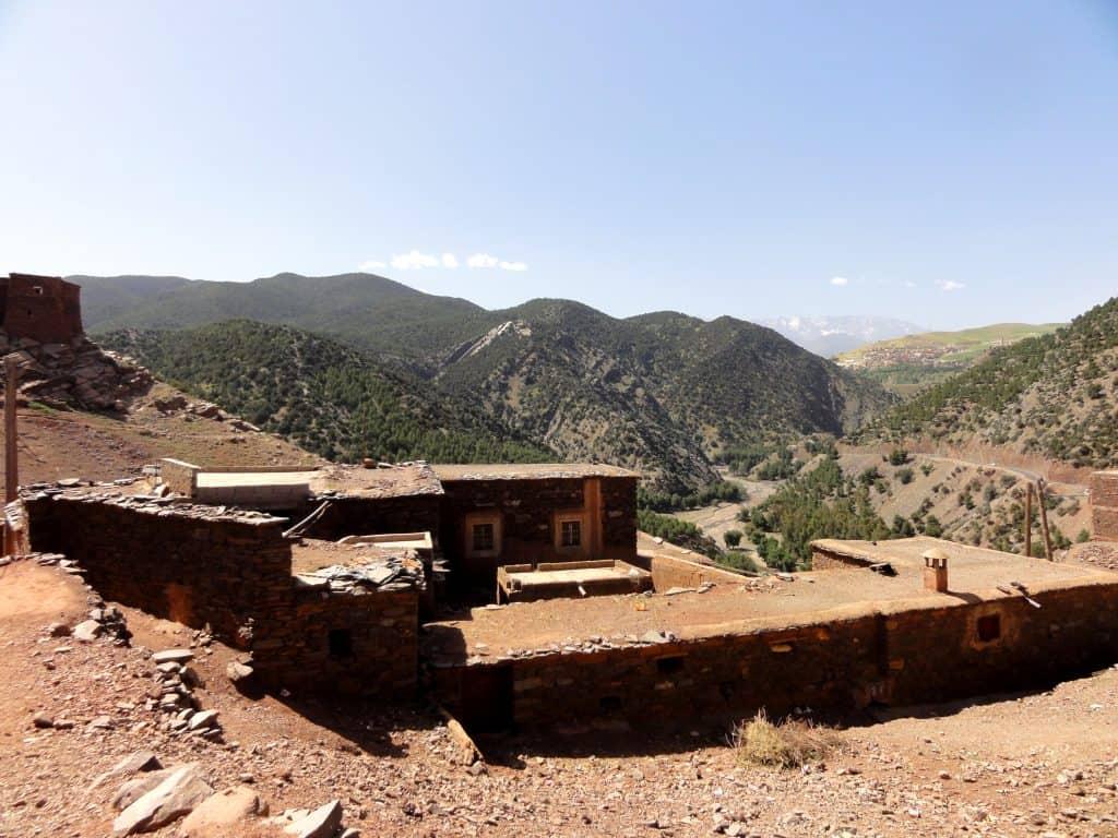 An Atlas Mountain scene that inspired Jaspar Wills' rectangle
