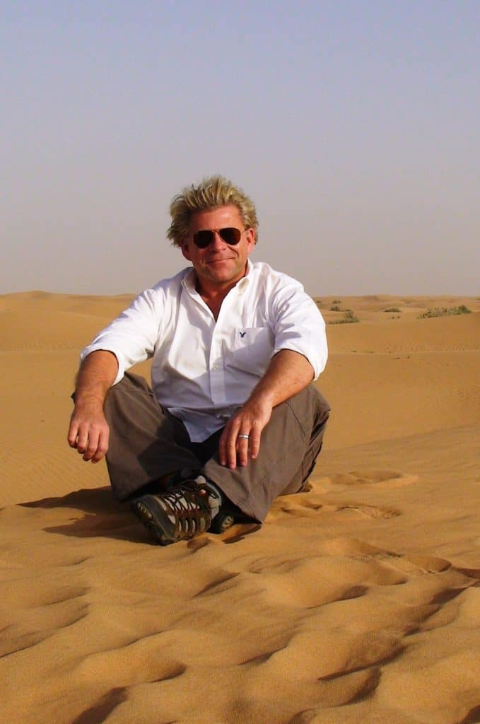 Author Photo - Date With a Sheesha: A Russell Quant Mystery #7