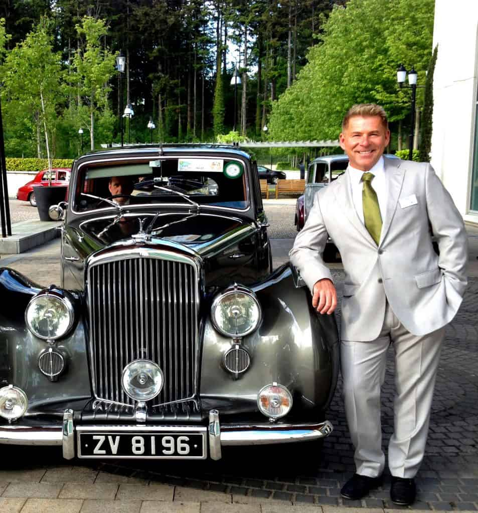 Being a guest in a 1954 Bentley