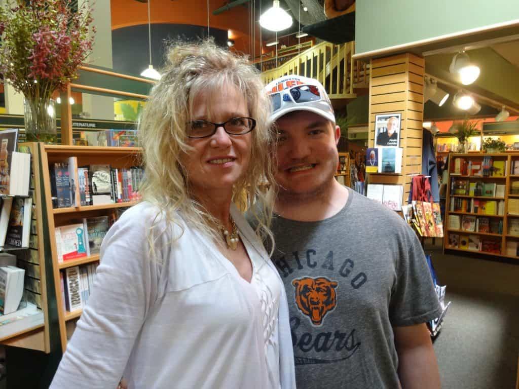 Debbie and son Rob