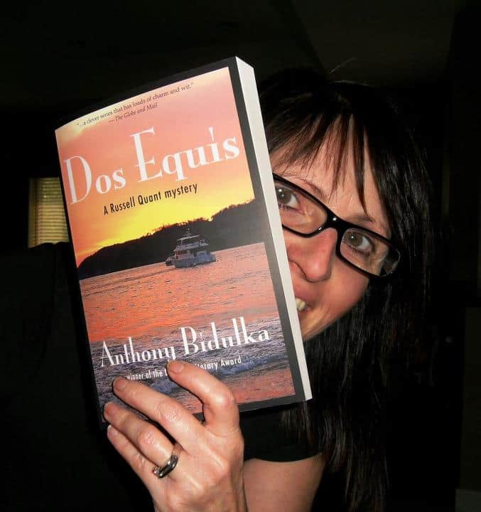 Sent in by Denise Marie Jacqueline of Winnipeg, finally getting her hands on a copy of Dos Equis. 2012.