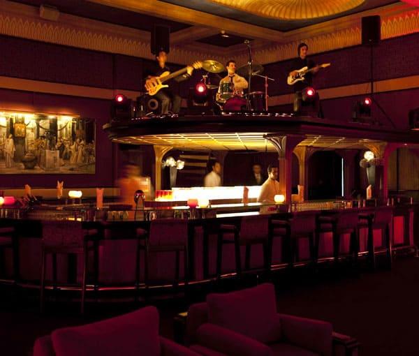 Egyptian Bar at Es Saadi Palace