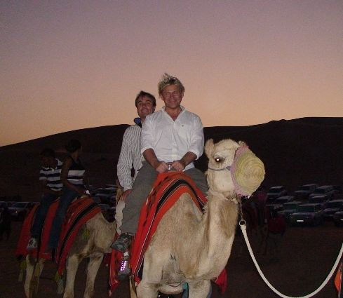 First Camel Ride