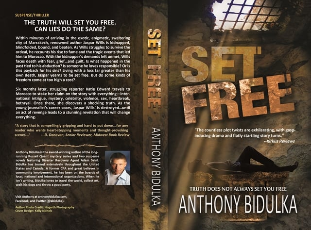 Full Cover Spread for Set Free.