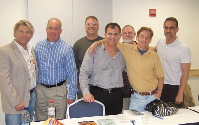 Greg Miraglia, Neil Plakcy, Rich Merritt, Mark Zubro, Chris Beakey, Scott Sherman