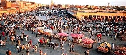 Haggling In Marrakech