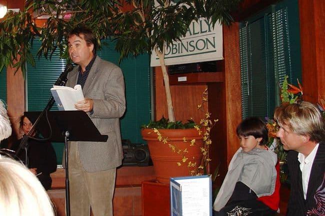 Herb Reading at Saskatoon Launch