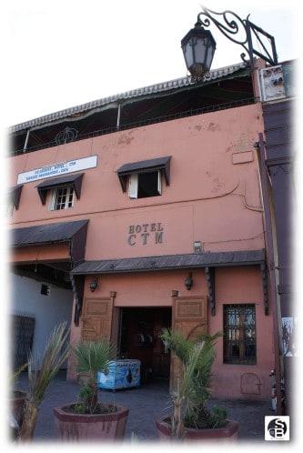 Hotel CTM in the medina