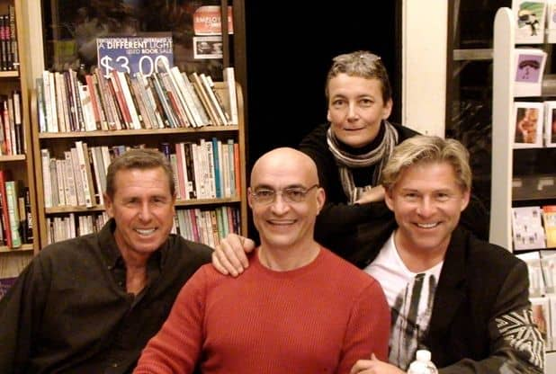 Anthony Bidulka Lee Patton, Greg Herren, Ann Laughlin  A Different Light Bookstore, San Francisco, CA 2009