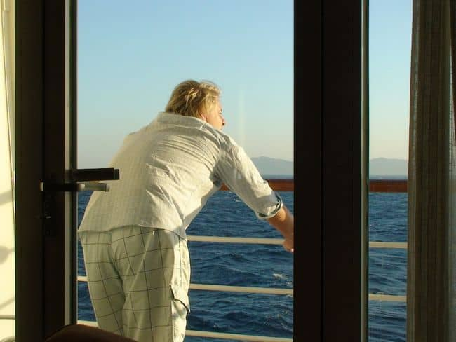 Luxuriating in Being at Sea