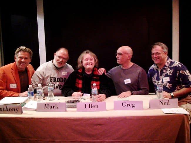 Mark Zubro, Ellen Hart, Greg Herren, Neil Plakcy