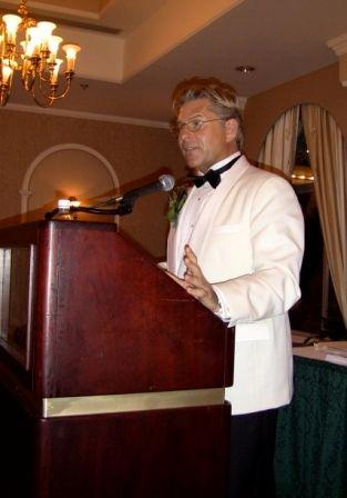 MCing the 2011 Arthur Ellis Awards