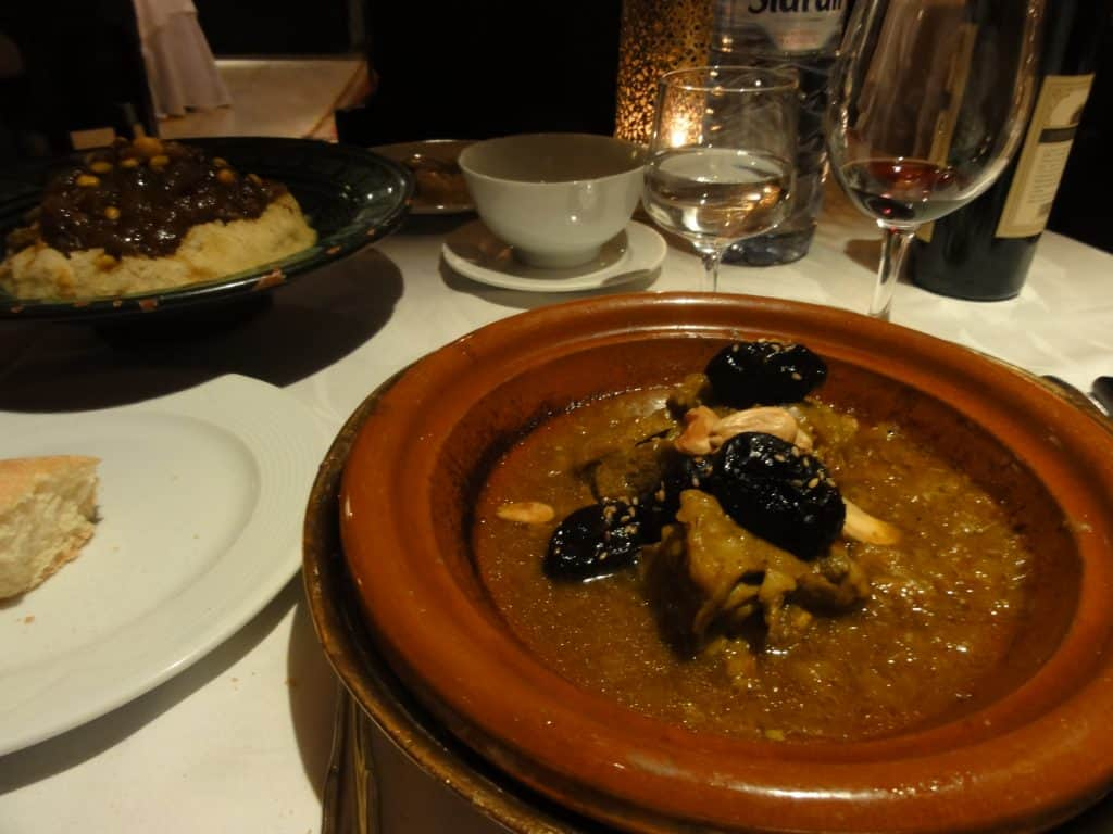 My lamb and date tagine