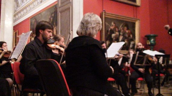 Private concert in The Hermitage