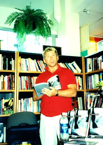 Reading at Vancouver Launch 2003