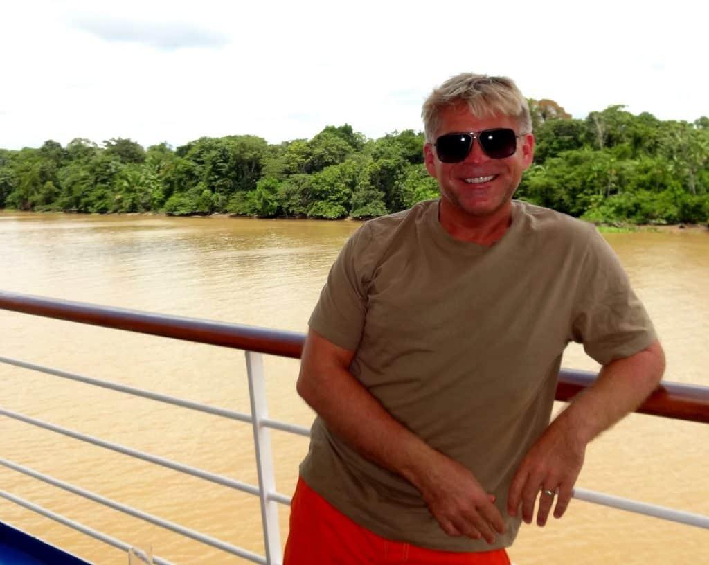 Sailing down the Amazon