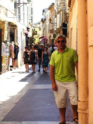Shopping in St. Tropez