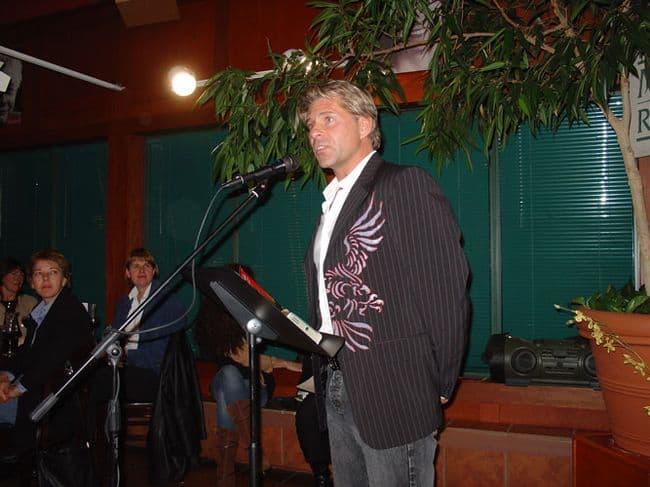 Speaking at Saskatoon Launch