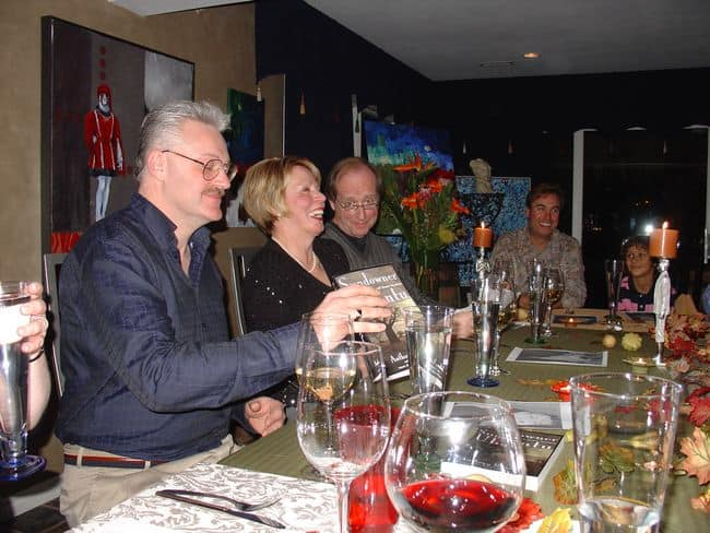 Sundowner Ubuntu Celebration Dinner-Kelly, Jan, Paul and Herb