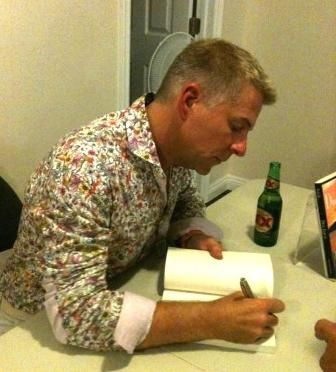 Toronto book launch signing