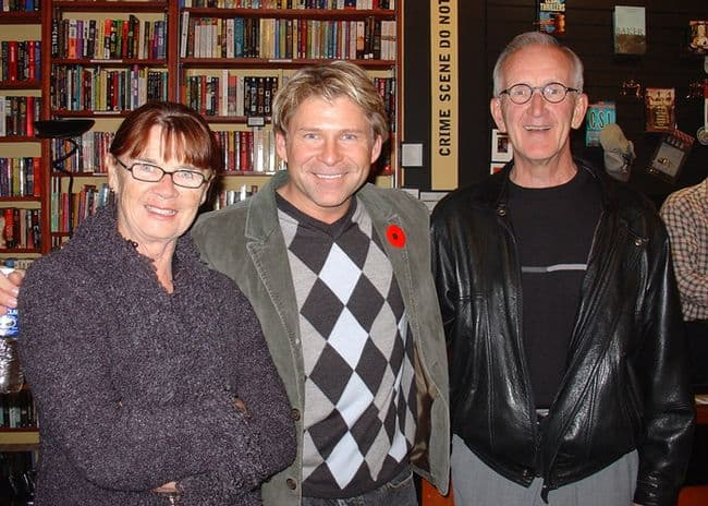 Victoria Launch with Bob and Eleanor