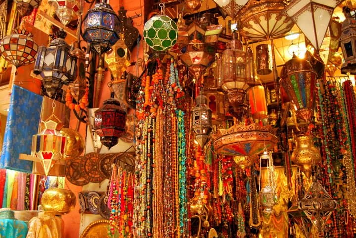 Wares of the souk